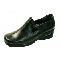get tired easy mold air cushion sole Ribbon leather shoes